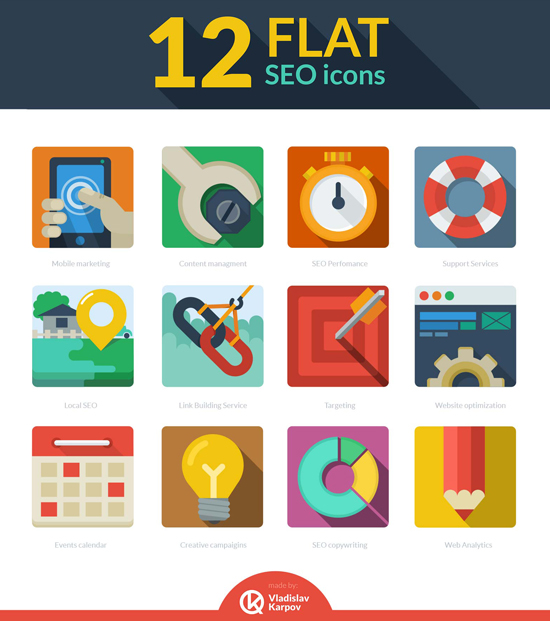 free-12-flat-seo-icons-psd-preview