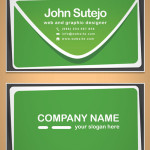 Freebie: Mail Business Card Template