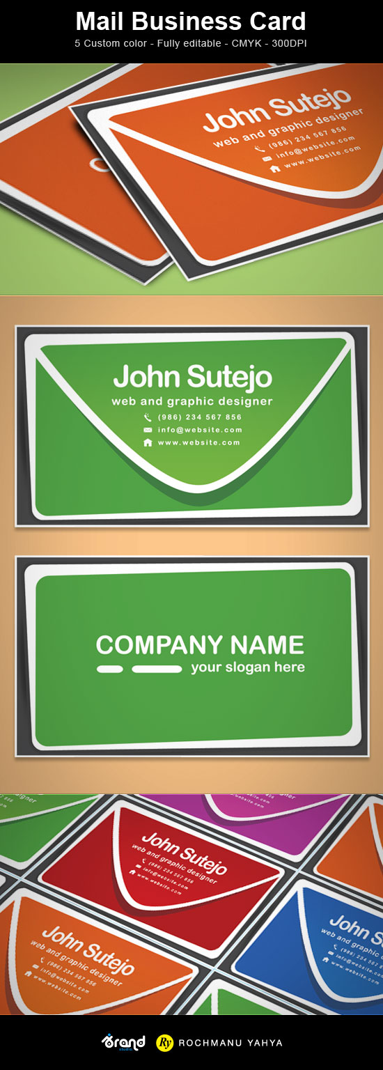 freebie mail business card template idevie