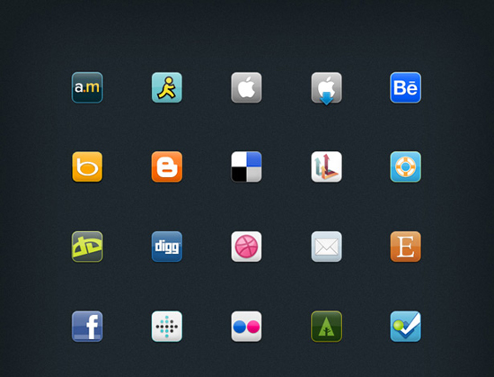how to use icon sets