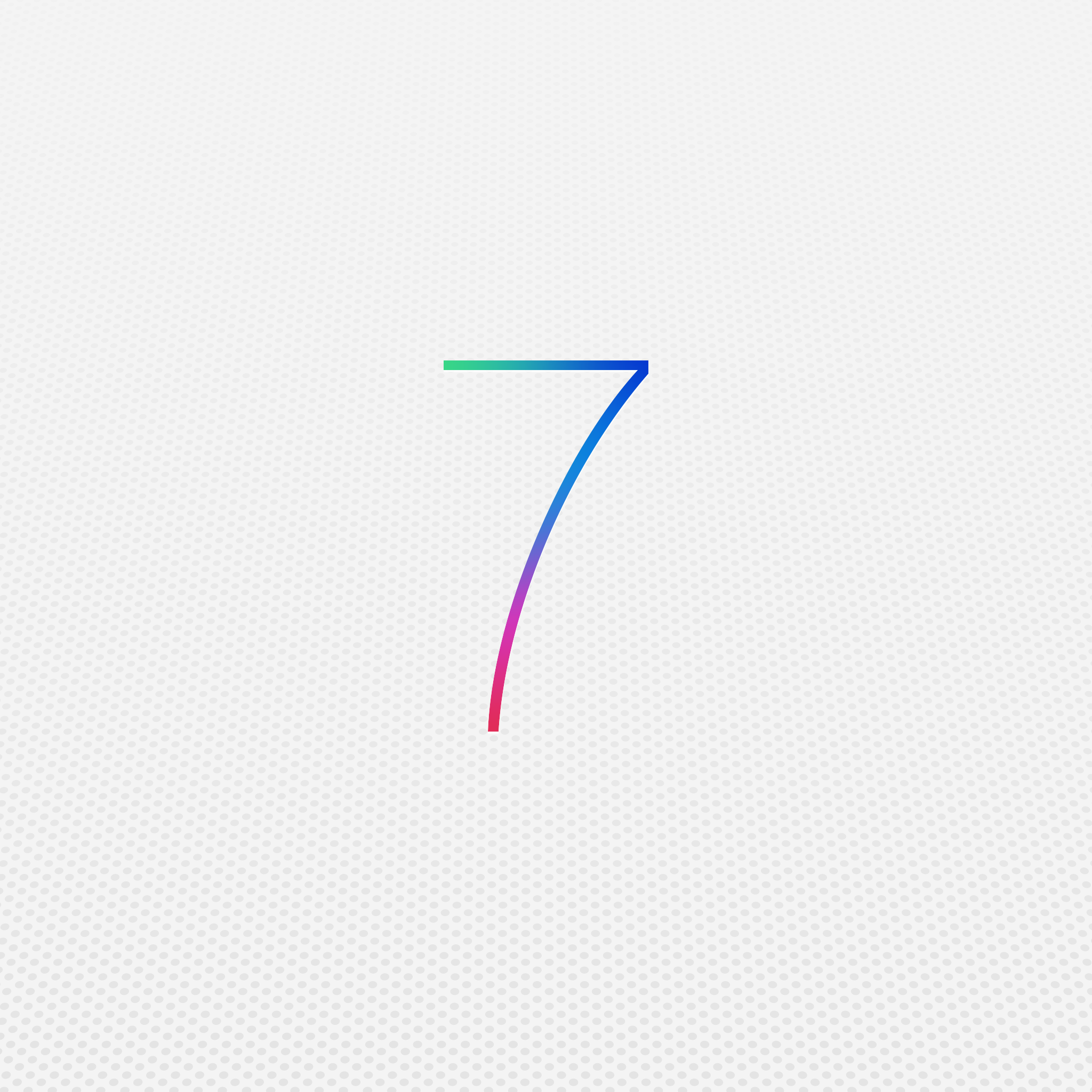 iOS7 GUI: Fantastic set with more than a thousand elements