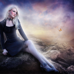 How to Create This Mystical Scene and Add Makeup to a Girl in Photoshop