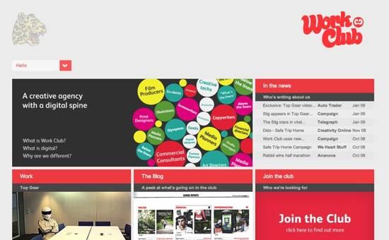 website designs inspiration