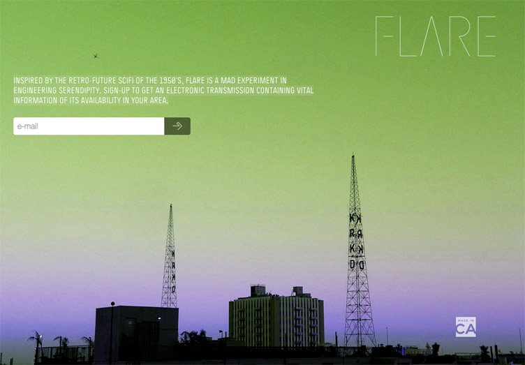 Flare - Beatifully designed coming soon page