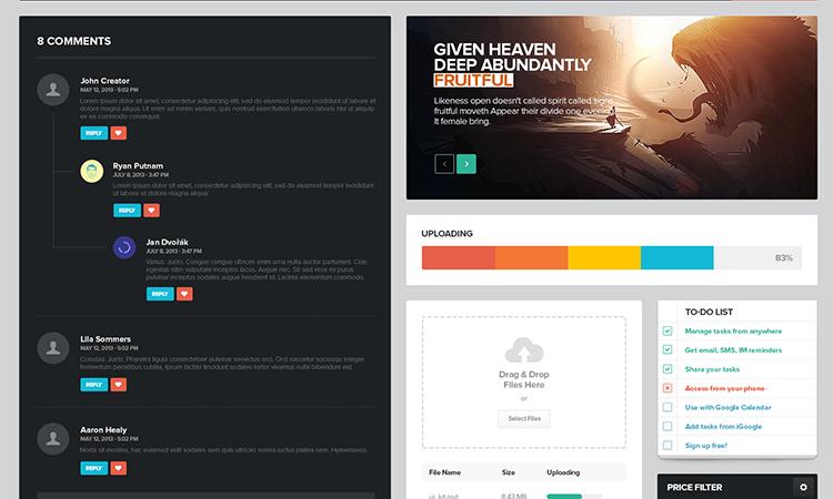 20 Timesaving Web Design UI Freebies