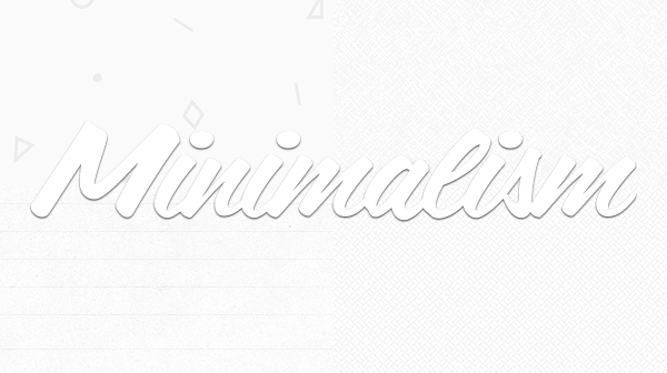 Incorporating Subtle Patterns and Minimalism into Web Design