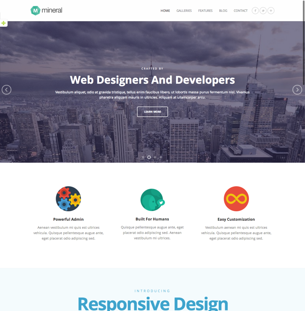 25 Beautifully Designed Flat WordPress Themes