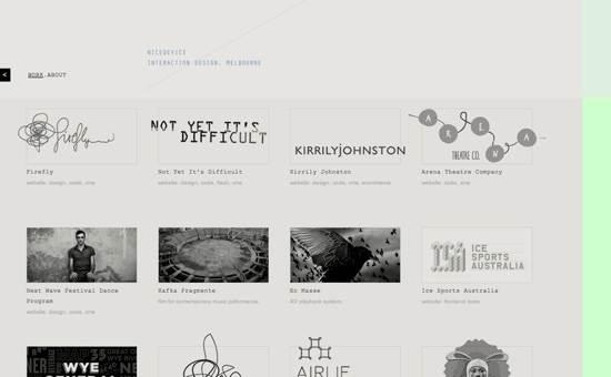 nice device website design