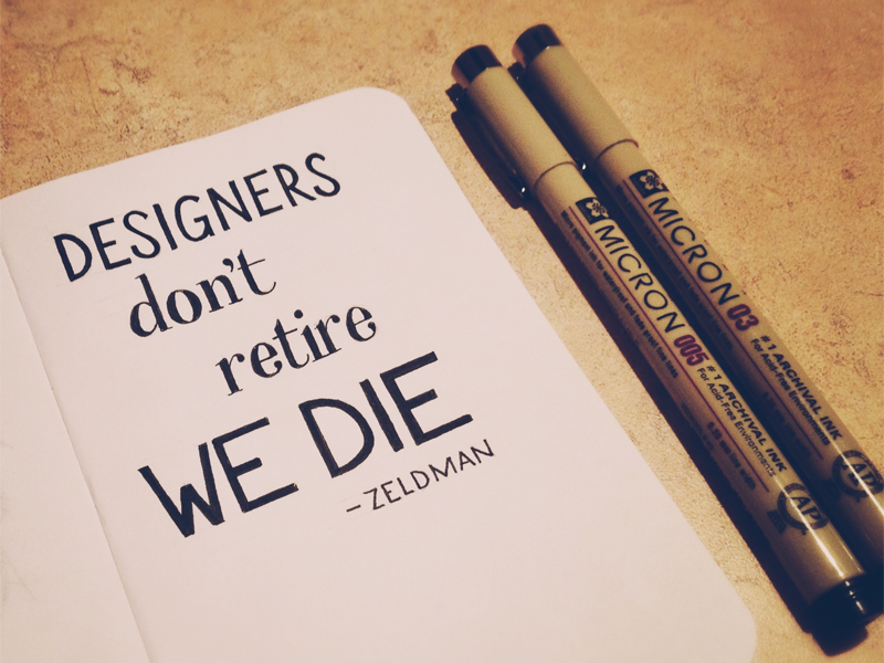 20 Posters with Inspirational Quotes for Designers 12
