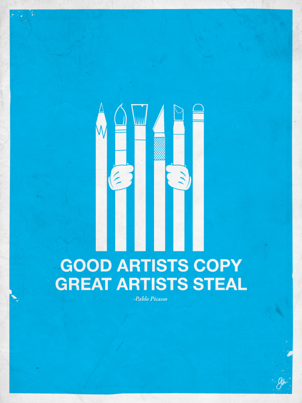 20 Posters with Inspirational Quotes for Designers 2