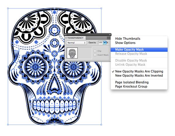 Illustrator Opacity Mask