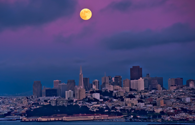 sf fever california full moon desktop wallpaper