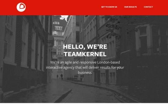 kernel interactive website design