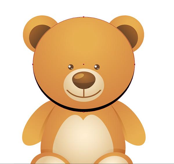 54_Teddy_Bear_head_head_shadow
