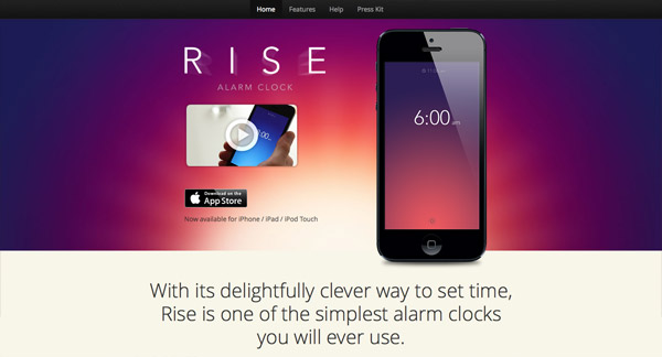 Rise for iPhone