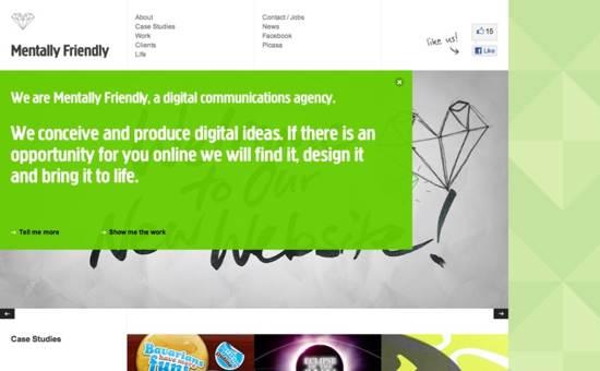 mentally friendly website design