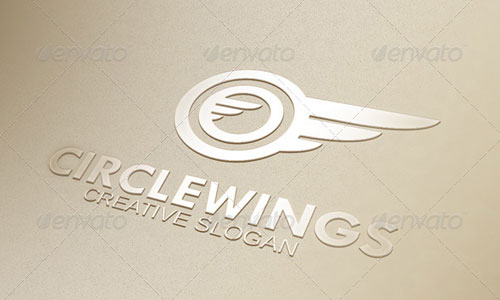 Circle Wings Logo