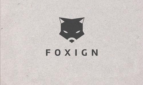 Foxign Logo Design