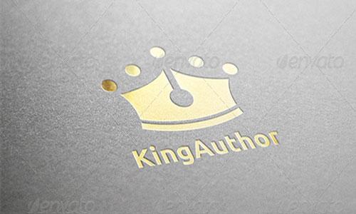 king Author Logo