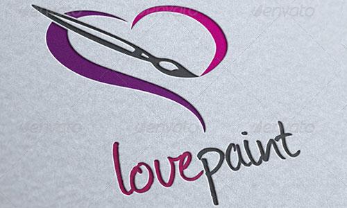 love Painting Logo