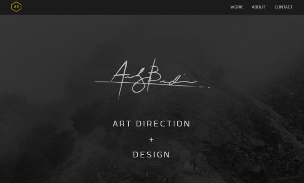 Ornamental Nature – Websites featuring Handwritten Fonts
