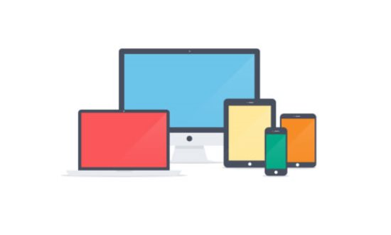 Apple Devices – Flat Icons PSD