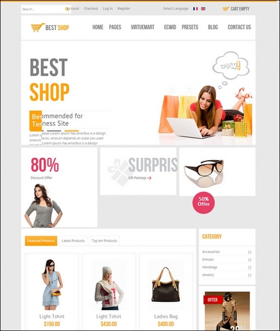 Bestshop-HTML5-Joomla-E-Commerce-Template