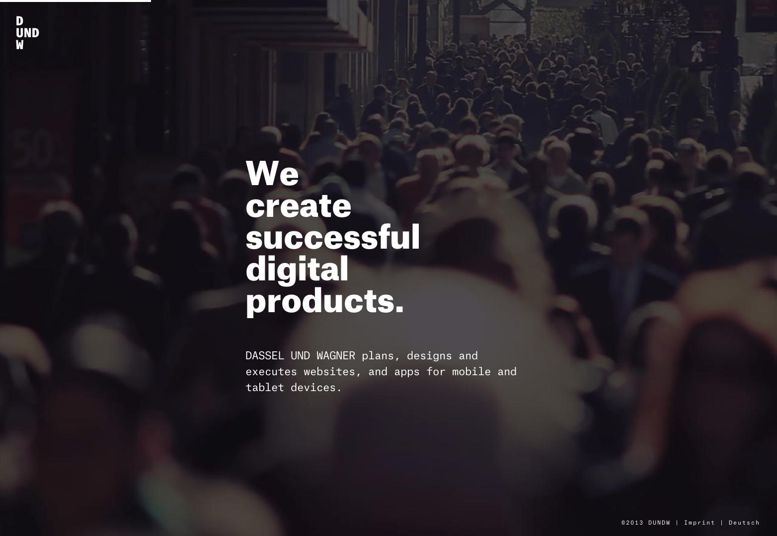 DASSEL UND WAGNER | We create digital products.