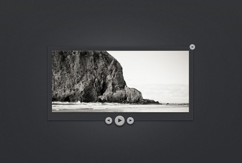 Dark slider PSD