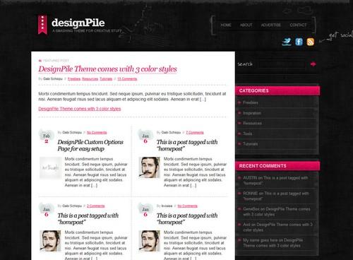 Designpile WordPress Theme