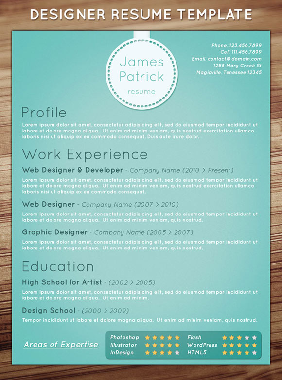 25 innovative resume designs to impress your recruiter