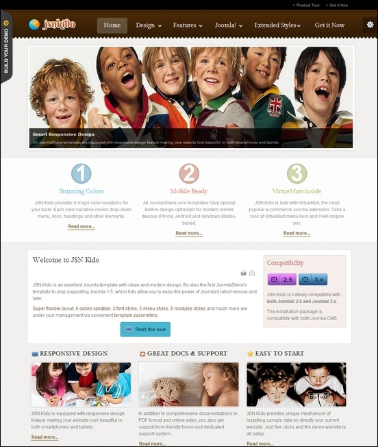 JSN-Kido-Responsive-Theme-&-VirtueMart-support