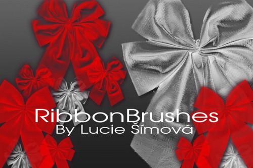 Markyfan Ribbon Photoshop Brushes
