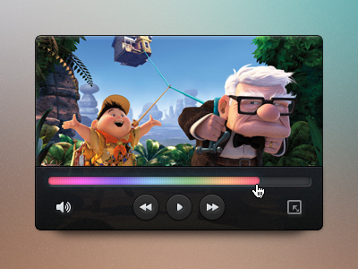 Mini video player for PSD file