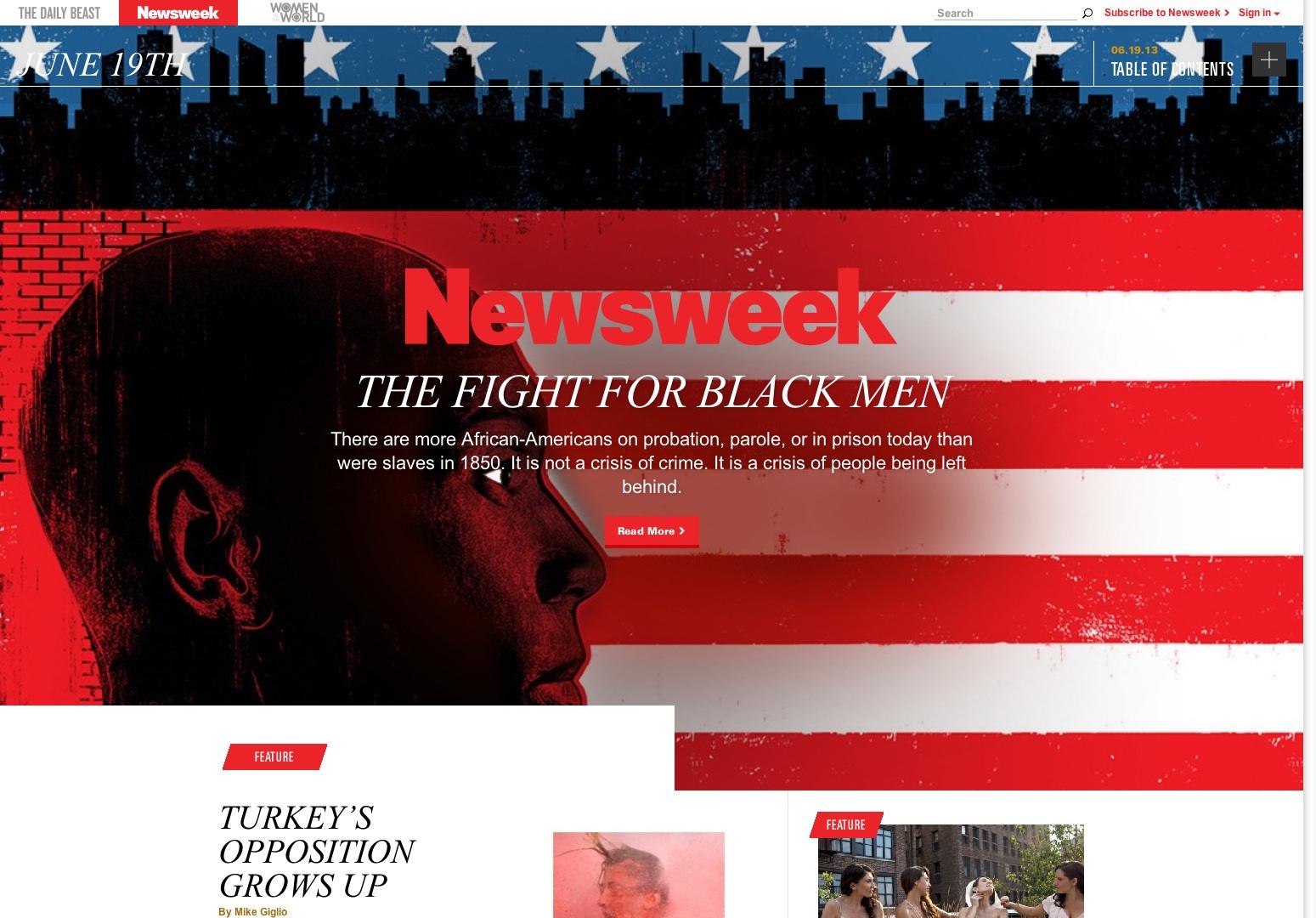 Newsweek - Newsweek and The Daily Beast