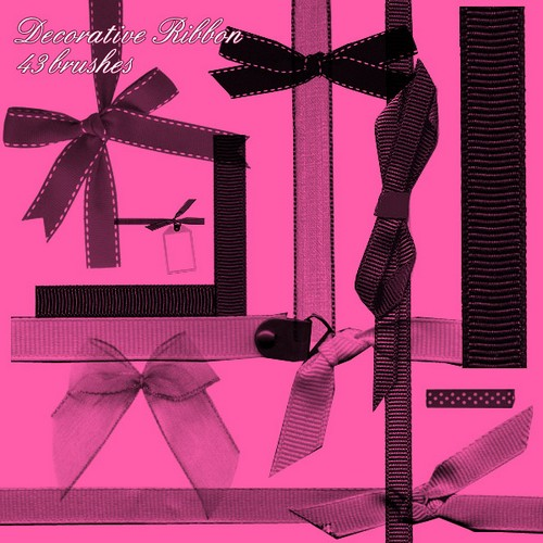 Sylvehr free ribbon brushes