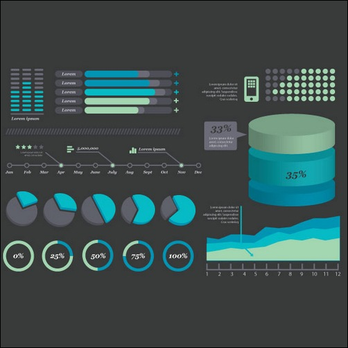 Vector Infographic Kit