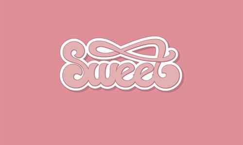Sweet Typography Logo