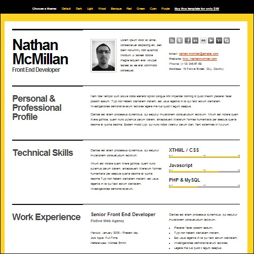 35  best cv and r u00e9sum u00e9 templates