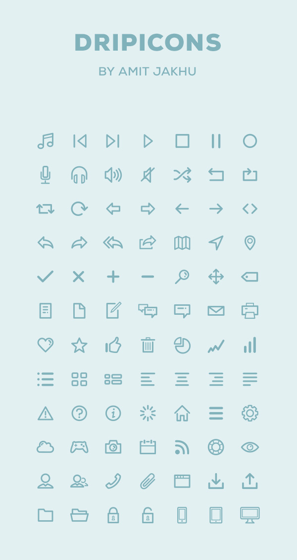 dripicons-free-icon-set-psd-illustrator-webfont-preview