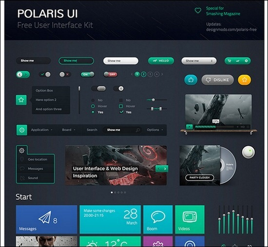 Polaris-UI-Free