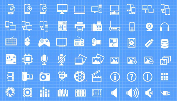 Free download: 500 Vector Mega Icon Pack