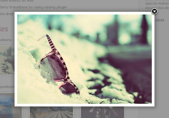 fancybox - Useful and Effective jQuery Lightbox Plugins