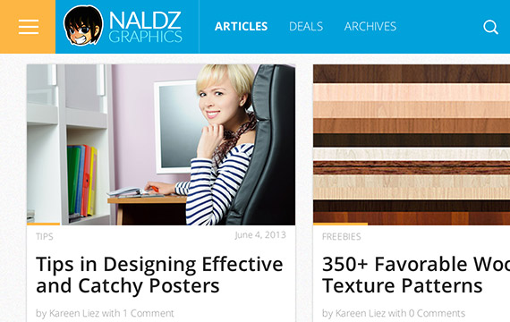 Naldzgraphics web design blog top blogs follow