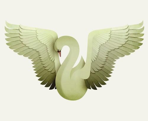 Create a beautiful bird artwork