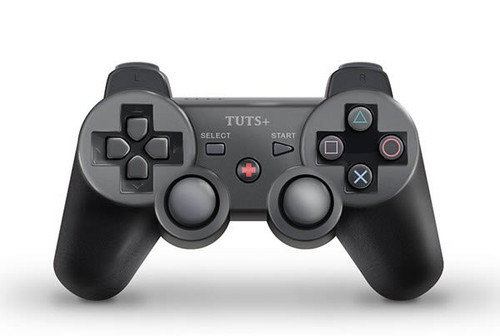 How to Draw a PlayStation-Inspired Game Controller From Scratch in Photoshop