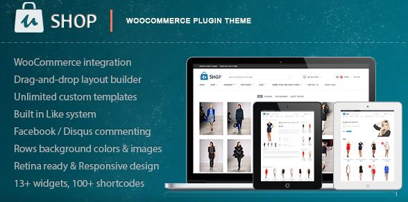 retina responsive woocommerce wordpress theme 2