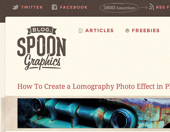Spoongraphics web design blog top blogs follow