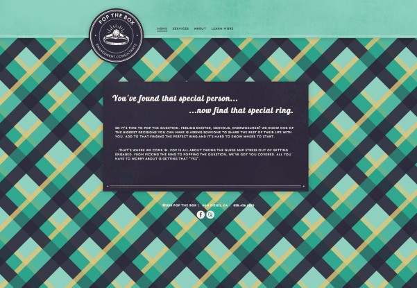 20 Websites with Unique Pattern Designs