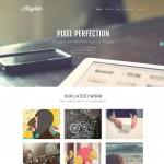 25 Beautifully Designed Flat WordPress Themes